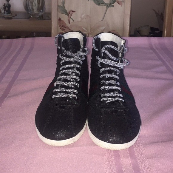 975b2617b1e Gucci Other - Gucci men high top used shoe